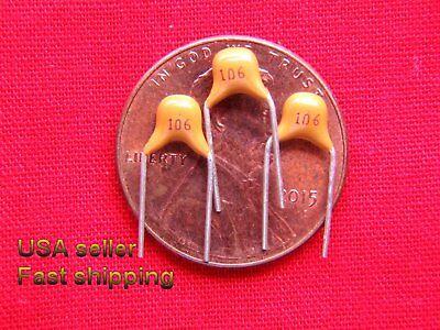 12 Pcs - 10uf  50v Non Polarized Ceramic Capacitors