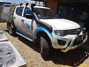 Mitsubishi Trition 4x4 Dual Cab Alloy Tray Jindabyne Snowy River Area Preview