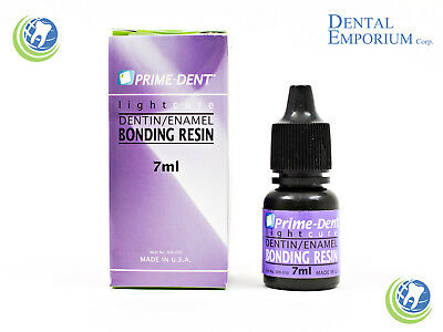 Dental Light Cure One Step Dentin Enamel Resin Bonding Adhesive 7 Ml Prime Dent