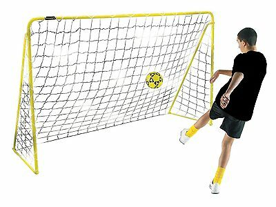 Kickmaster 6ft Premier Steel Goal Goalkeeper Nets Garden Football -5+ Years