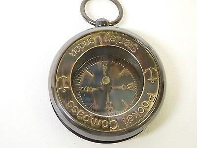 Pocket Kompass, antik, Ø 4,5 cm (NH18182)