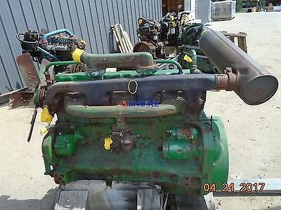 Fits John Deere 4020 Engine Complete Oem Gas Good Running A- Bcn R40017 Hcn R3
