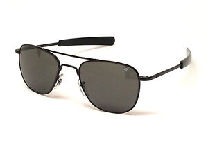 AO American Optical Original Pilot Sunglasses Military Aviators USMC USAF NASA