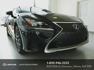 2015 Lexus RC 350 F SPORT 2 AWD WITH REMOTE STARTER