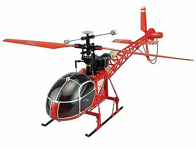 RC Hubschrauber, Helikopter LAMA 4 Kanal, 2,4 GHz 51cm inkl Lipo Akku NEU ()