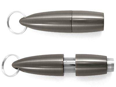 XIKAR Pull-Out 9mm Cigar Punch GUNMETAL Keychain! #009GM New! SALE! SAVE 37%!!