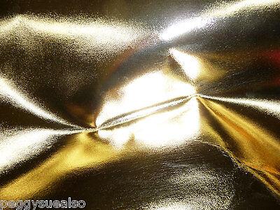 """Кожа, шкуры Metallic Leather 20""""x20"""" Gold"""
