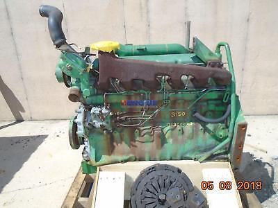 John Deere 6.359 Nat Engine Complete Good Running A Bcn R80725 Hcn R62143