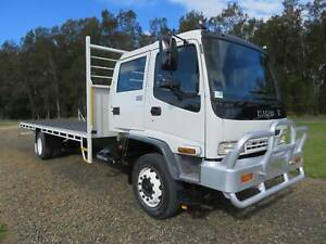 2005 Isuzu FTR900 Crew Cab - STEEL TRAY - BIG 15,000KG GVM! North Macksville Nambucca Area Preview