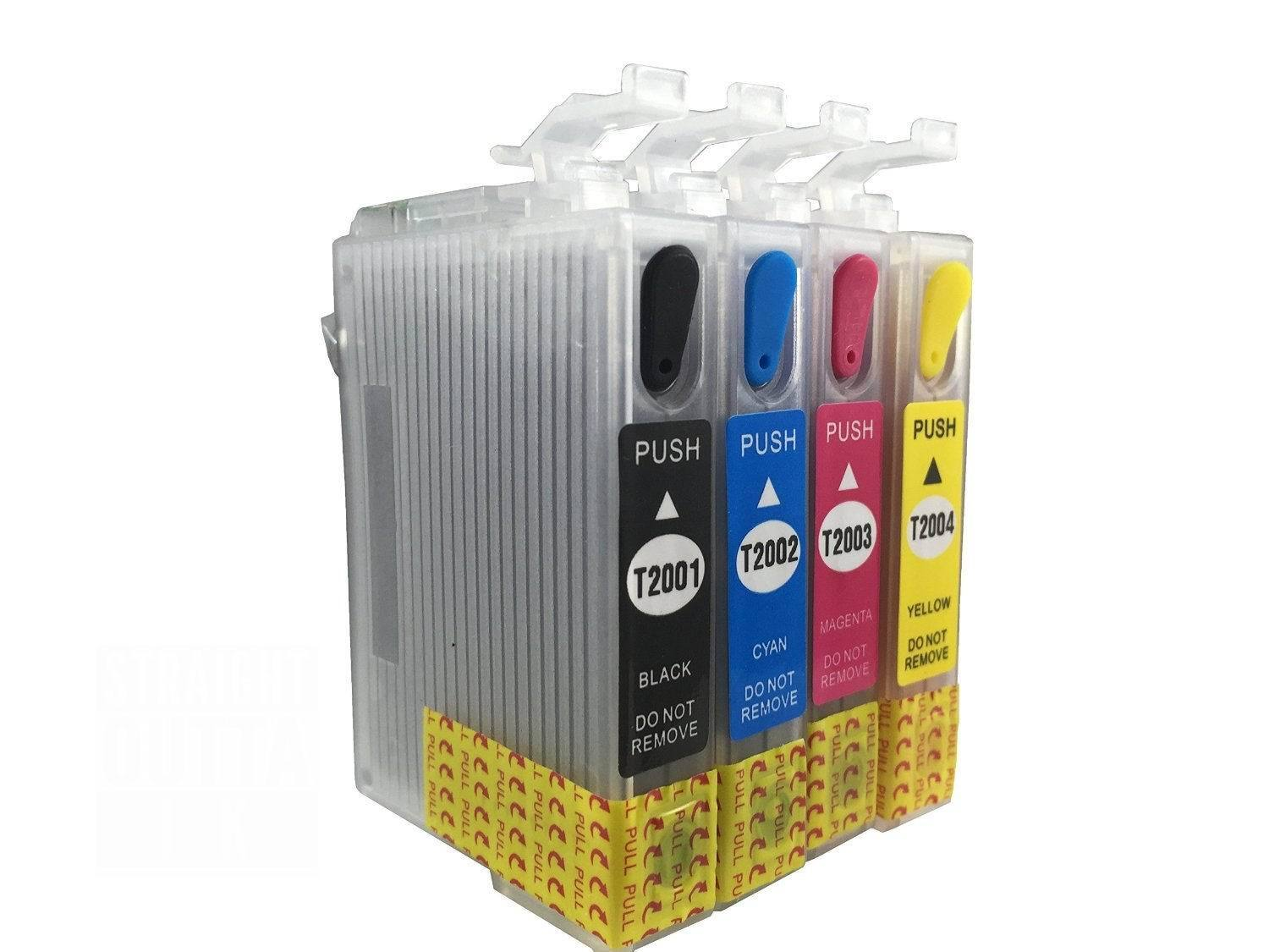 Compatible Refillable Ink Cartridge For Epson T200 Xl Wf-...