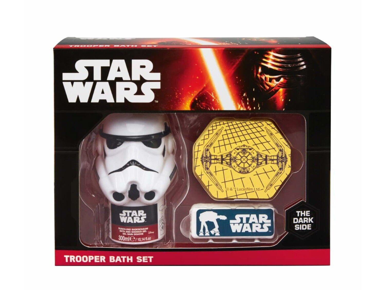 Star Wars Trooper Bade Set Duschgel Badeschwamm Badefizzer Bath Set