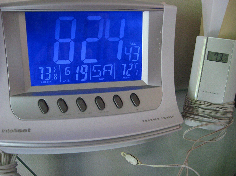 Sharper Image Intelliset Alarm Clock Sr283 # 2409uuu