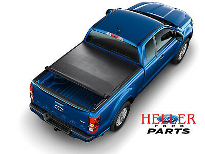 2019 FORD RANGER OEM SOFT ROLL-UP OVER BED RAIL TONNEAU/BED COVER 5 FT BED
