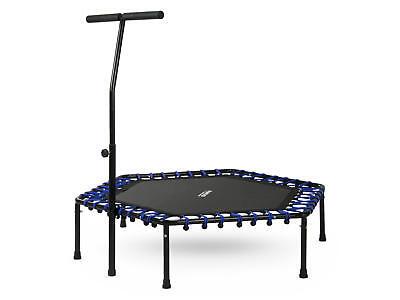 Sechseckiges Fitness Trampolin, Sportgerät, Indoor mit dem Griff 1101 NeoSport