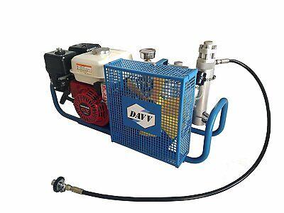 100lmin 5.5hp Gas Powered Air Compressor Gasoline Scuba Paintball Tanks Refill