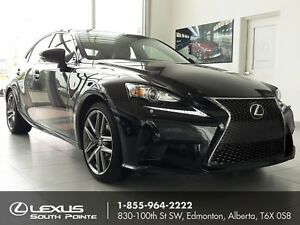 2014 Lexus IS 250 F Sport Premium w/ navigation, backup camer...
