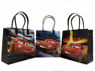 12PCS Disney Cars Mc Queen Authentic Goodie Party Favor Gift Birthday Loot Bags