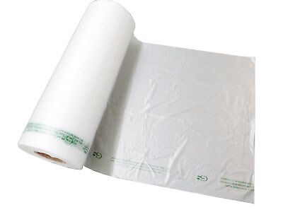 Plastic Bag-clear Hdpe Unprinted Produce Rolls 12x20 11 Mic