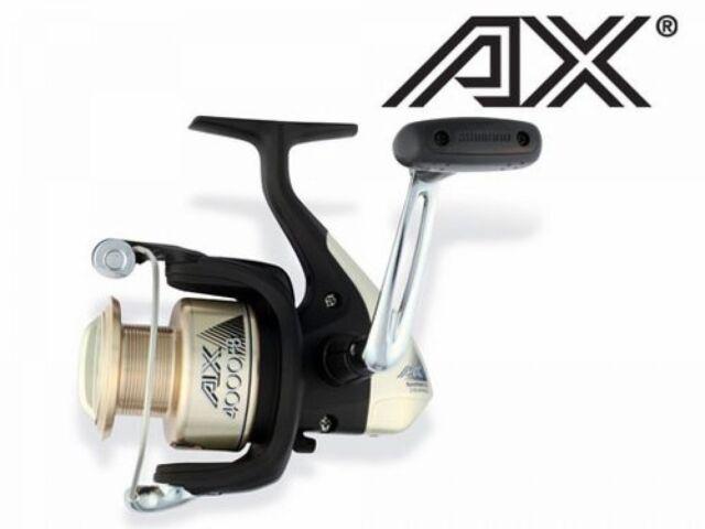 Shimano AX 2500 FB Spinnrolle mit Metallspule Frontbremsrolle