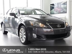 2010 Lexus IS 250 Leather package w/ moonroof, heated front s...