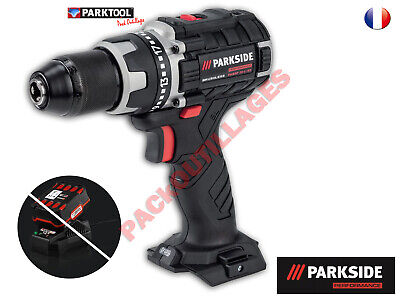 PARKSIDE PERFORMANCE Perceuse-visseuse sans fil PABSP 20-Li B2, 20 V SS Bat&Ch.