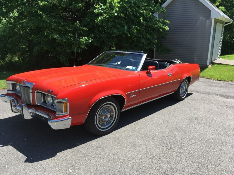 1973 Mercury Cougar XR-7 convertible-original owner