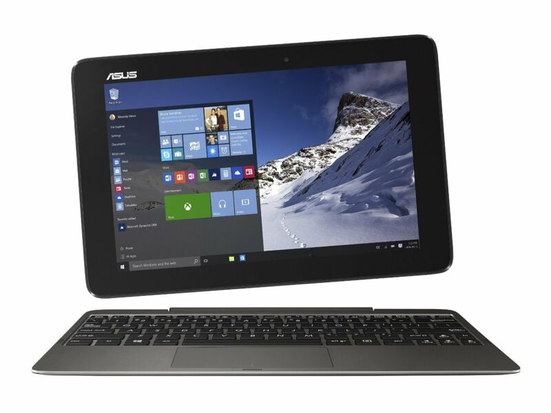 "New ASUS Transformer Book T100HA-C4-GR 10.1"" Laptop +1Yr WARRANTY"