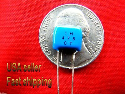 4 pcs   -   4.7uf 50v  ceramic multilayer monolythic NP capacitors FREE SHIPPING