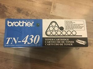 New sealed brother TN-430 toner cartridge