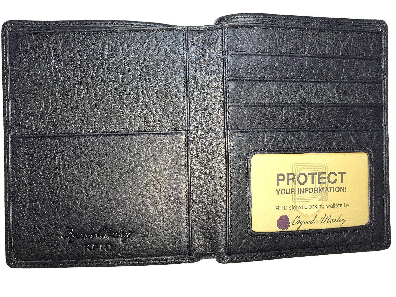 Osgoode Marley Cashmere Leather Rfid Blocking Passport Ca...