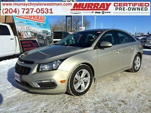 2015 Chevrolet Cruze 2.0TD Diesel *Backup Camera* *Heated Leathe