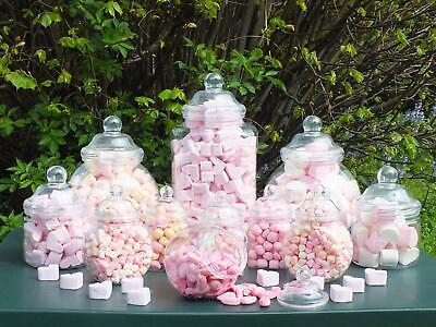12 Victorian Style Plastic Candy Jar Sweet Buffet Kit