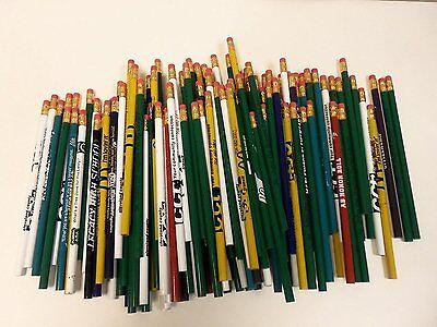 144 Lot Misprint Pencils with Rubber Eraser #2 Lead, Bulk Wholesale Lot