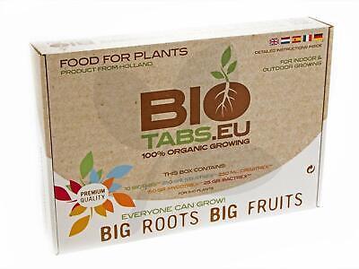 Biotabs Starter Kit 100% Natural ORGANIC Hydroponics Nutrients Fertiliser