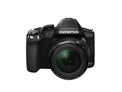 New Olympus Stylus SP-100EE (SP-100) 16.0MP Digital Camera - Black