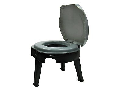 Portable Camping Toilets RV's Hunting Boating Emergency Potty Sturdy 300 lbs Cap