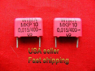 12 Pcs - .015uf 0.015uf 15nf 400v Metalized Film Capacitors Free Shipping
