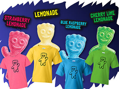 Sour Patch Kids Costume Group Costumes Youth Kids T shirt Brand New Halloween - Sour Patch Kid Costume
