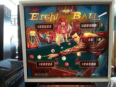 Eight Ball Pinball Machine by Bally-FREE SHIPPING!