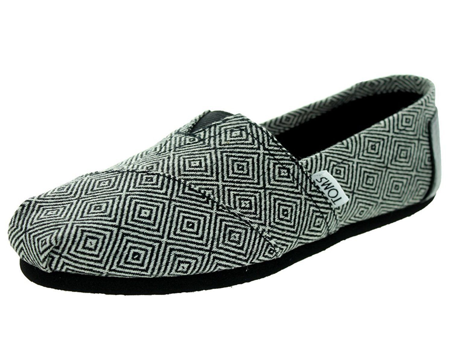 TOMS Women's CLASSIC Canvas Slip on Casual flats shoe's New Authentic NWB 1