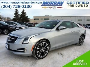 2016 Cadillac ATS Luxury Collection AWD *Nav* *Lane Keep* *Proje