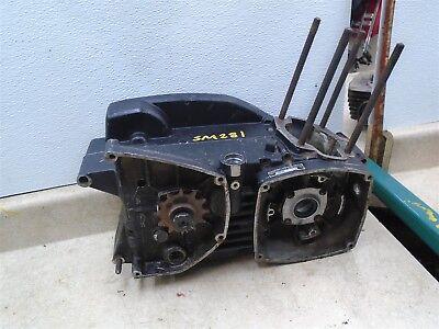 Husqvarna 250 WR WR250 HUSKY Engine Cases & Transmission Shaft 1973 WD SM281