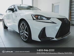 2017 Lexus IS 350 F SPORT 3 with Sunroof & Mark Levinson Soun...