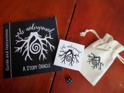The Girls Underground Story Oracle - Book and Card Deck Divination Set