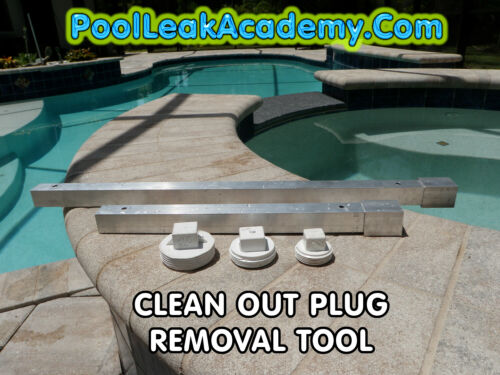 """POOL TOOL- CLEAN OUT PLUG WRENCH skimmer and bottom drain sewer plug remover 17"""""""