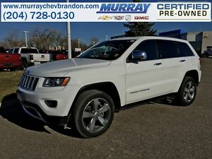 2016 Jeep Grand Cherokee Limited 4WD *ParkSense Braking Assist*