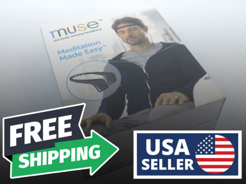 BRAND NEW SEALED | Muse Brain Sensing Headband | Black | MU-02-BK-EN