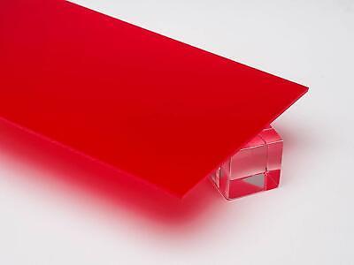 Acrylic Red Translucent Plexiglass .125 - 18 X 24 X 48 Sheet 2283