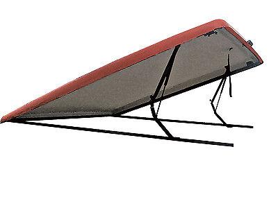Fiberglass Hard Tonneau Bed Covers For NissanTitan 2004-2018 PAINTED Sport Wrap