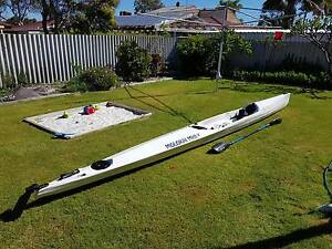 Molokai Mk II Finn Kayak PLUS HEAPS OF ACCESSORIES Safety Bay Rockingham Area Preview